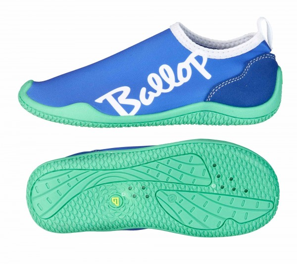 BALLOP Kids Schuhe Lettering purple/blue