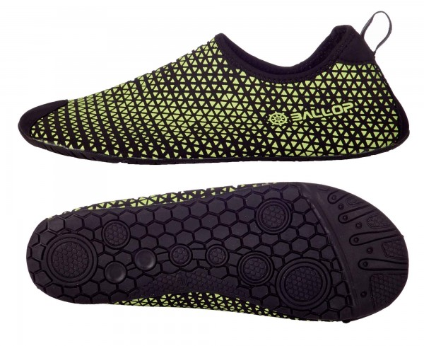 "BALLOP Schuhe ""Triangle green-black"", V1-Sohle"