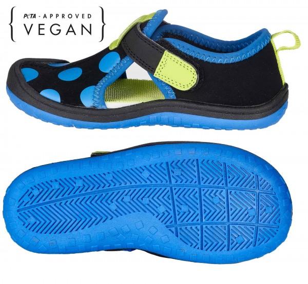 BALLOP Kids Sandale Dot schwarz/blau