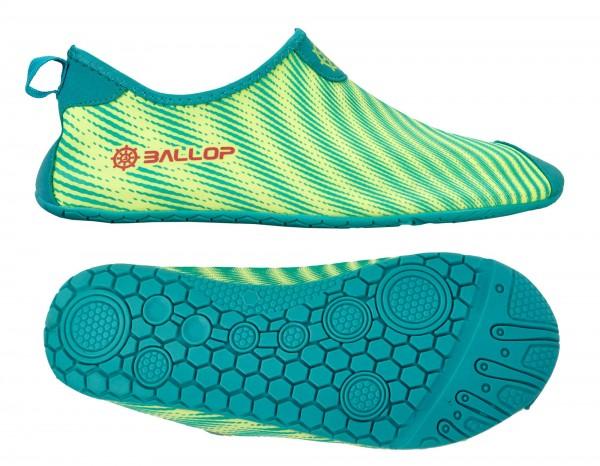 "BALLOP Schuhe ""Skin Fit Ray green"""