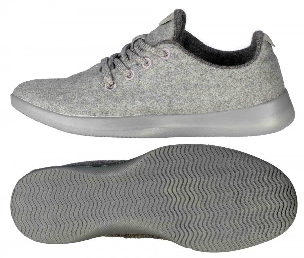 BALLOP Woll-Sneaker Tenderness grey