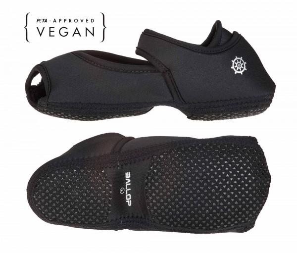 BALLOP Yoga-Schuhe Jam-Flat black